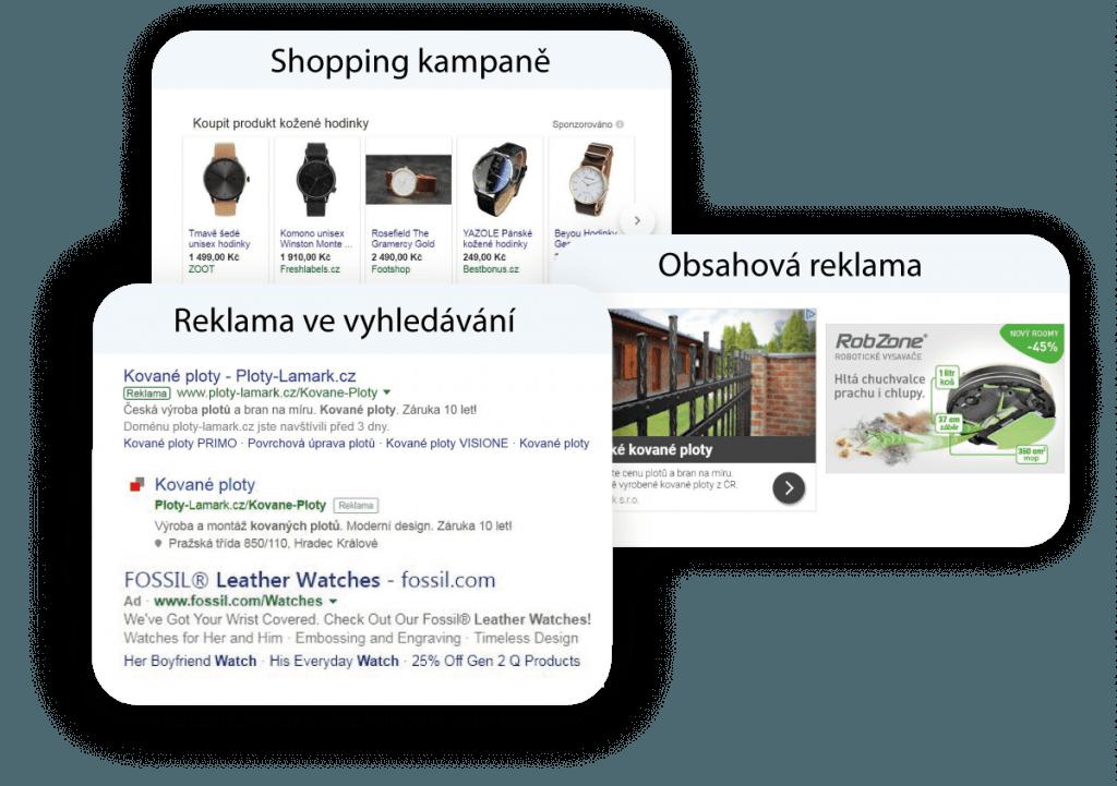 PPC reklama a ukázky reklam
