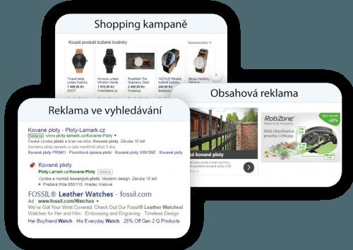 Správa Adwords a Sklik kampaní